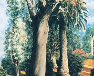 Эвкалипт и пальма — Моис Кислинг
