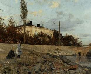 Evening at the Bay of Frogner — Фриц Таулов