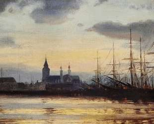 Evening in the Harbour — Иоаннис Алтамурас