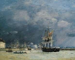 Evening, Le Havre — Эжен Буден
