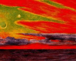 Evening Twilight at Acapulco — Диего Ривера