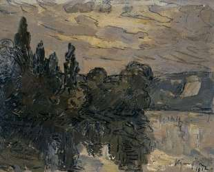 Evening Twilight on the Seine — Максим Мофра