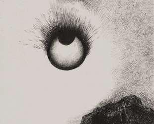 Everywhere eyeballs are aflame — Одилон Редон