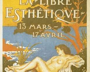 Exhibition poster for La Libre Esthetique — Жорж Леммен