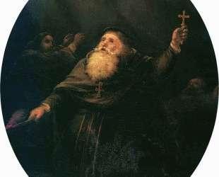 Взрыв Аркадионского монастыря на Крите в 1866 году — Иван Айвазовский