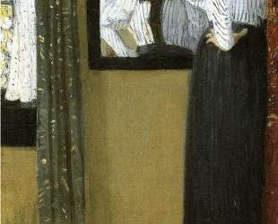 Face Reflected in a Mirror — Джулиан Олден Вейр