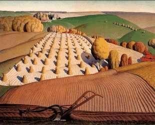 Fall Plowing — Грант Вуд
