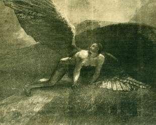 Fallen Angel — Одилон Редон