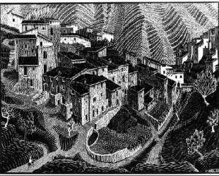 Fara San Martino, Abruzzi — Мауриц Корнелис Эшер