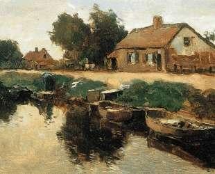Farm Along The Canal — Корнелис Вреденбург