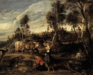 Farm at Laken — Питер Пауль Рубенс