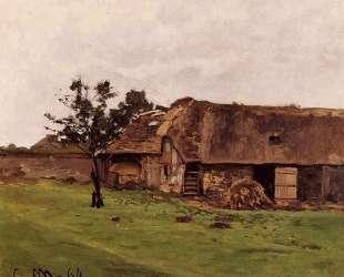 Ферма близ Онфлёра — Клод Моне