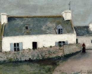 Farm on L'Ile d'Ouessant (Finistere) — Морис Утрилло