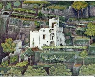 Farmhouse, Ravello colour — Мауриц Корнелис Эшер