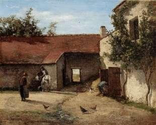 Farmyard — Камиль Писсарро