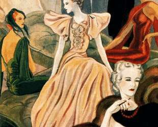 Fashion Illustration — Карлос Саенс де Техада