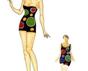 Fashion Illustration — Соня Делоне