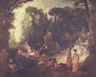 Feast in Park — Антуан Ватто