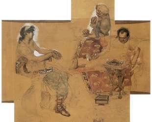 Feasting Romans — Михаил Врубель