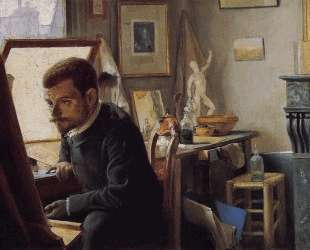 Felix Jasinski in His Printmaking Studio — Феликс Валлотон