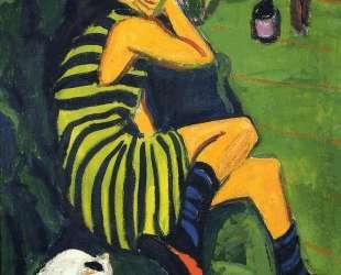 Female Artist — Эрнст Людвиг Кирхнер