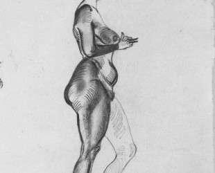 Женская фигура — Александр Дейнека