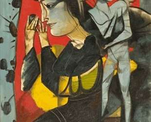 Female figure with an angel — Димитрис Митарас