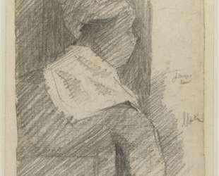 Женщина со спины (Негритянка) — Жорж Сёра