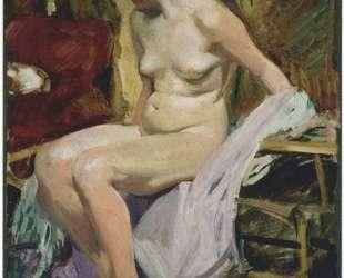 Female nude — Хоакин Соролья
