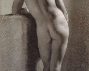 Female Nude from Behind — Пьер Поль Прюдон