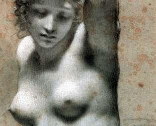 Female Nude Raising her Arm — Пьер Поль Прюдон