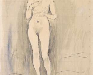 Female Nude (Study for 'Truth') — Фердинанд Ходлер