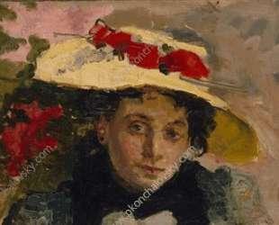 Женский портрет (Вороновой) — Пётр Кончаловский