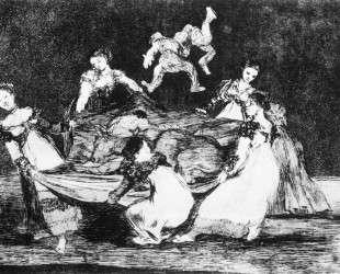 Feminine Folly — Франсиско де Гойя