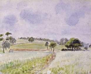 Field of Rye — Камиль Писсарро