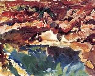 Figure and Pool — Джон Сингер Сарджент