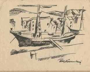 Рисунок в сборнике стихотворений 'Автографы' — Пётр Кончаловский