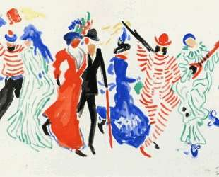 Figures from a Carnival — Андре Дерен
