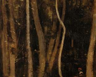 Люди в лесу — Камиль Коро