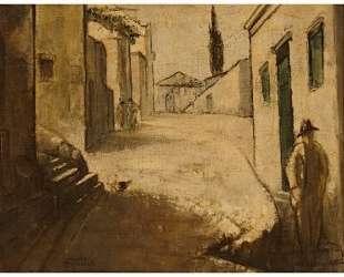 Figures on a street — Теофрастос Триантафиллидис