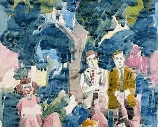 Figures Under Tree — Нил Уэлливер
