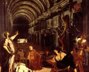 Finding of the body of St Mark — Тинторетто