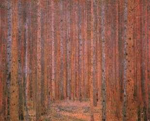 Fir Forest I — Густав Климт