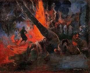 Огненная пляска — Поль Гоген