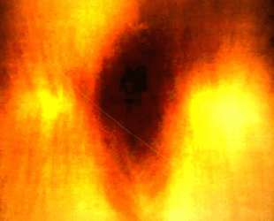 Fire Painting F36 — Ив Кляйн