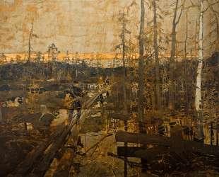 Первые шаги изыскателей в тундре — Константин Коровин