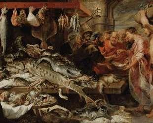 Fish market — Франс Снейдерс