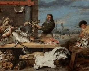 Fish Market — Эжен Буден