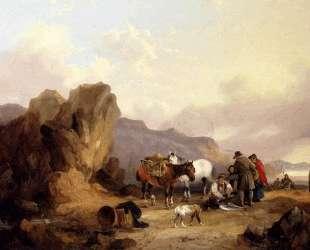 Fisherfolk Sorting The Catch — Уильям Шайер