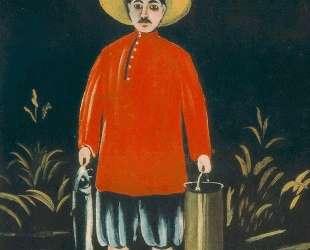 Рыбак в красной рубахе — Нико Пиросмани